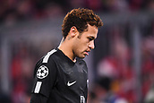 December 5th 2017, Allianze Arena, Munich, Germany. UEFA Champions league football, Bayern Munich versus Paris St Germain;  10 NEYMAR JR (psg) dejected as his team slip behind