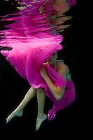 Jeannie Patrie underwater.St John, Virgin Islands