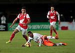 BOGOTÁ – COLOMBIA _ 26-03-2014 / En juego correspondiente a la décima fecha del Torneo Apertura Colombiano 2014, Independiente Santa Fe cayó 0 – 1  ante Envigado FC en el estadio Nemesio Camacho El Campín de Bogotá. /