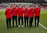 U18 lads during the English League One match at  Bramall Lane Stadium, Sheffield. Picture date: April 30th 2017. Pic credit should read: Simon Bellis/Sportimage