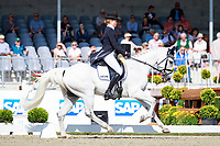 AUS-Isabel  English rides Feldale Mouse during the 1st day of Dressage, CIC3* Meßmer Trophy - German Eventing Championships, at the 2017 Luhmühlen International Horse Trial. Thursday 15 June. Copyright Photo: Libby Law Photography
