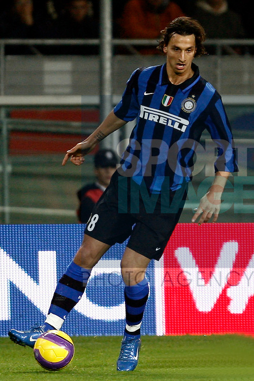Zlatan Ibrahimovic of Inter Milan