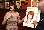 Beth Leavel and Max Klimavicius during the Beth Leavel Portrait unveiling at Sardi's on 3/26/2019 in New York City.