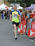 Eoin Conroy running in the Clogherhead 10k run. Photo: Colin Bell/pressphotos.ie