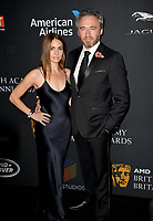 Michael Howells &amp; Courtney Howells at the 2017 AMD British Academy Britannia Awards at the Beverly Hilton Hotel, USA 27 Oct. 2017<br /> Picture: Paul Smith/Featureflash/SilverHub 0208 004 5359 sales@silverhubmedia.com