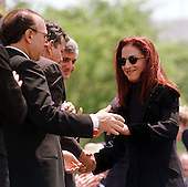 """Gloria Estefan is greeted by the assembled VIPs at The Capitol after her rendition of """"Always Tomorrow"""" at the 16th Annual National Peace Officers' Memorial Day Service at the U.S. Capitol in Washington, D.C. on May 15, 1997. .Credit: Ron Sachs / CNP"""