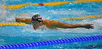 LONDRES, INGLATERRA, 31 JULHO 2012 - OLIMPIADAS 2012 - NATACAO - O nadador Michael Phelps durante o revezamento 4x200 metros livre nos Jogos de Londres, nesta terça-feira, 31, na Inglaterra. (FOTO: PIXATHLON / BRAZIL PHOTO PRESS).