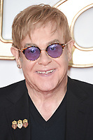 Sir Elton John at the world premiere for &quot;Kingsman: The Golden Circle&quot; at the Odeon and Cineworld Leicester Square, London, UK. <br /> 18 September  2017<br /> Picture: Steve Vas/Featureflash/SilverHub 0208 004 5359 sales@silverhubmedia.com