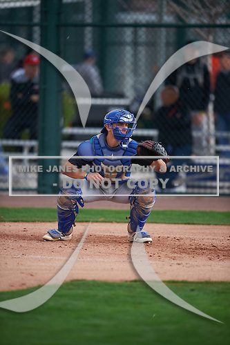 Cameron Barstad (14) of Junipero Serra High School in Redwood City, California during the Under Armour All-American Pre-Season Tournament presented by Baseball Factory on January 14, 2017 at Sloan Park in Mesa, Arizona.  (Mike Janes/Mike Janes Photography)