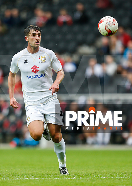 Joe Walsh of Milton Keynes Dons during the Sky Bet League 1 match between MK Dons and Oxford United at stadium:mk, Milton Keynes, England on 17 September 2016. Photo by David Horn / PRiME Media Images.