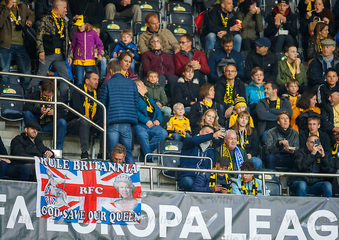03.10.2019 Young Boys of Bern v Rangers: BSC Young Boys fans