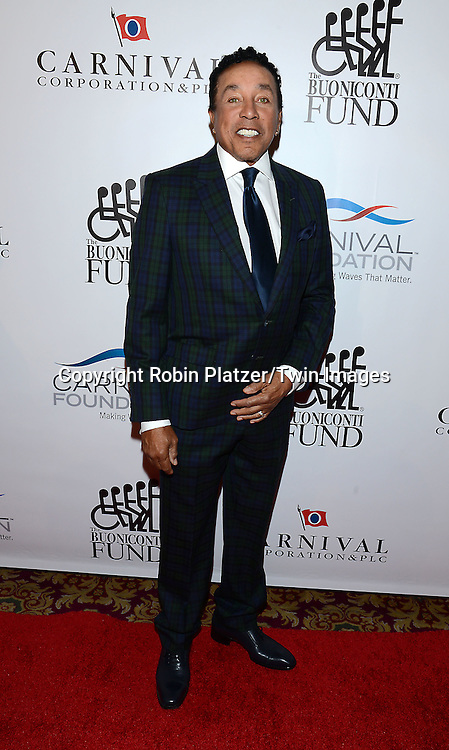 Smokey Robinson attends The Buoniconti Fund to Cure Paralysis 29th Annual Gala Sport's Legends Dinner on September 29,2014 at the Waldorf Astoria Hotel  in New York City. <br /> <br /> photo by Robin Platzer/Twin Images<br />  <br /> phone number 212-935-0770