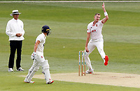 Matt Quinn of Essex in bowling action during Kent CCC vs Essex CCC, Friendly Match Cricket at The Spitfire Ground on 27th July 2020