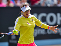 Netherlands, Rosmalen , June 08, 2015, Tennis, Topshelf Open, Autotron,   Yaroslova Shvedova (KAZ)<br /> Photo: Tennisimages/Henk Koster