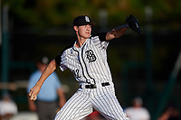 Jack Kochanowicz during the WWBA World Championship at the Roger Dean Complex on October 19, 2018 in Jupiter, Florida.  Jack Kochanowicz is a right handed pitcher from Bala Cynwyd, Pennsylvania who attends Harriton High School and is committed to Virginia.  (Mike Janes/Four Seam Images)