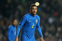 Danilo of Brazil and Manchester City during Brazil vs Cameroon, International Friendly Match Football at stadium:mk on 20th November 2018