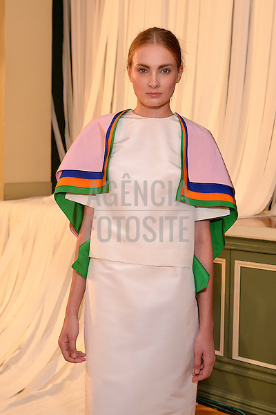Nova Iorque, EUA &sbquo;09/2014 - Desfile de Rosie Assoulin durante a Semana de moda de Nova Iorque  -  Verao 2015. <br /> <br /> Foto: FOTOSITE