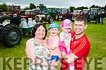Enjoying the Abbeydorney Vintage rally on Sunday were l-r  Janice O'Sullivan, Rory O'Sullivan, Anna O'Sullivan and Liam O'Sullivan from Abbeydorney