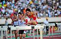 Liu Xiang (CHN),..JULY 10, 2011 - Athletics :The 19th Asian Athletics Championships Hyogo/Kobe, Men's 110mH Final at Kobe Sports Park Stadium, Hyogo ,Japan. (Photo by Jun Tsukida/AFLO SPORT) [0003]
