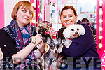 Aoife Corkery left and Irene McCarthy from the Kerry Dog Training who hold Puppy socialisation partys in Matildas Pet shop Killarney on Sunday mornings