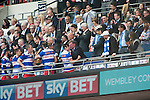 Queens Park Rangers 1 Derby County 0, 24/05/2014. Wembley Stadium, Championship Play Off Final. QPR celebrations. The Championship Play-Off Final between Queens Park Rangers and Derby County from Wembley Stadium. Photo by Simon Gill.