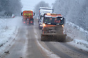 29/12/17<br /> <br /> Gritters treat the A515 near Buxton, Derbyshire.<br /> <br /> All Rights Reserved F Stop Press Ltd. +44 (0)1335 344240 +44 (0)7765 242650  www.fstoppress.com