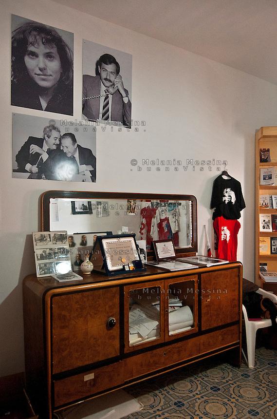 Casa della famiglia Impastato, adesso aperta al pubblico.<br /> impastato family house now open to visitors