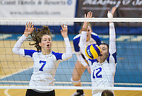 2015.02.06 UBC Women's Volleyball vs Regina Cougars