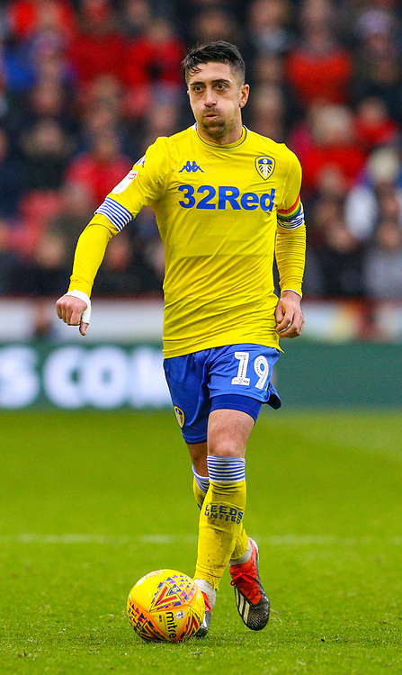 Leeds United's Pablo Hernandez<br /> <br /> Photographer Alex Dodd/CameraSport<br /> <br /> The EFL Sky Bet Championship - Sheffield United v Leeds United - Saturday 1st December 2018 - Bramall Lane - Sheffield<br /> <br /> World Copyright © 2018 CameraSport. All rights reserved. 43 Linden Ave. Countesthorpe. Leicester. England. LE8 5PG - Tel: +44 (0) 116 277 4147 - admin@camerasport.com - www.camerasport.com
