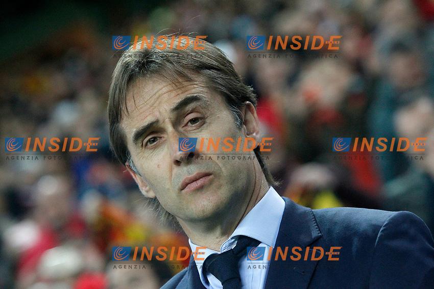 Spain's coach Julen Lopetegui during FIFA World Cup 2018 Qualifying Round match. <br /> Gijon 24-03-2017 Stadio El Molinon <br /> Qualificazioni Mondiali <br /> Spagna - Israele <br /> Foto Acero/Alterphotos/Insidefoto <br /> ITALY ONLY