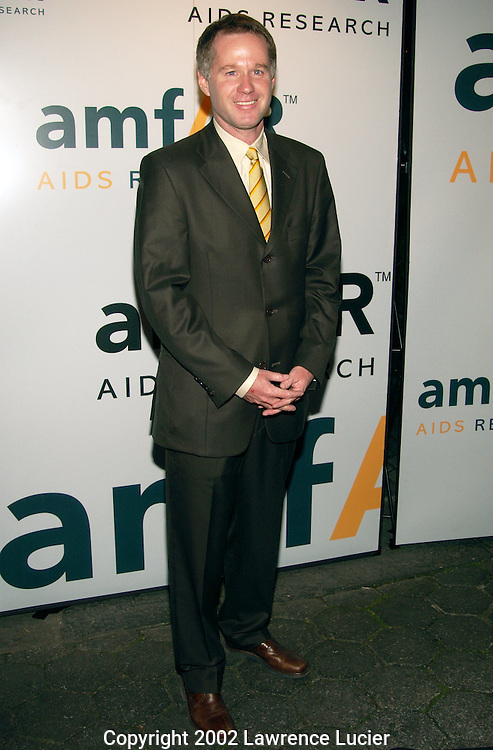 NEW YORK - JUNE 17:  Tennis analyst Patrick McEnroe arrives at amFAR's 11th Annual Boathouse Rocks June 17, 2002, at Tavern on the Green in New York City.  The American Foundation for AIDS Research (amFAR) is a nonprofit organization supporting AIDS research, prevention, and treatment.