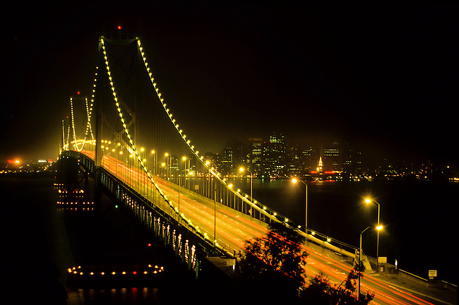 Bay Bridge in San Francisco, California, USA