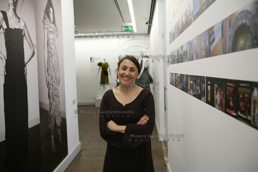 Turchia, Istanbul,ritratto della direttrice dell'Istituto di moda