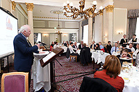 Marcus Treacy, OCKT pictured addressing business people from the Killarney area at an OCKT Chartered Accountants Budget Highlights Briefing in The Malton Hotel, Killarney on Wednesday.<br /> Photo: Don MacMonagle<br /> <br /> repro free photo