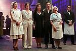 Mariola Fuentes, Michelle Jenner, Estefanía de los Santos, Christian Sanchez and  during the filming of the TVE series 'El Continental'. June 19, 2018. (ALTERPHOTOS/Acero)