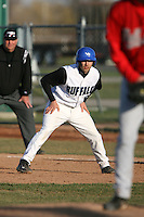 April 5, 2009:  Pinch Runner Kevin McCall (6) of the University of Buffalo Bulls during a game at Amherst Audubon Field in Buffalo, NY.  Photo by:  Mike Janes/Four Seam Images