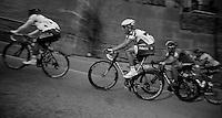 Milan-San Remo 2012.raceday.Lars Bak up Le Manie