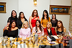 Rachel Healy from Cluin Ard celebrating her hen party in Bella Bia on Saturday night<br /> Seated l to r: Lorraine Gibney, Ann Loughnane, Rachel, Liz and Shauna Healy.<br /> Back l to r: Michelle Duggan, Amy Hassett, Jessica Noughton, Tracy McDonagh and Pauline Loughnane.