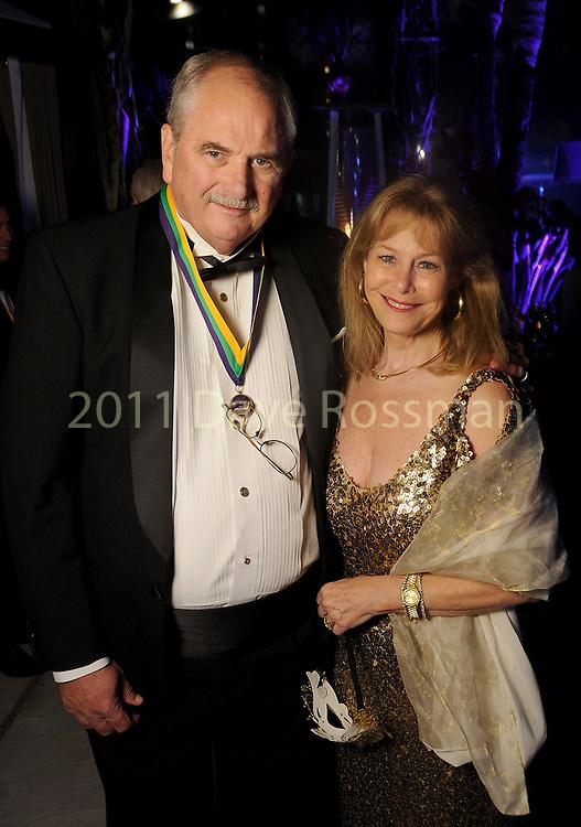 "Cheryl and Sam Byington at the San Luis Salute ""Hollywood Dinner Club"" in Galveston Friday Feb. 09,2018. (Dave Rossman Photo)"