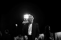 US director Abel Ferrara poses during the red carpet for the of 'Last day on earth' premiere at the 68th Venice Film Festival