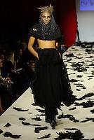 Models are walking for designer Ev Bessar at style fashion week at Gotham Hall during New York Fashion Week F/W 17