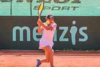 The Hague, Netherlands, 11 June, 2017, Tennis, Play-Offs Competition, Irina Bara , Leimonias.<br /> Photo: Henk Koster/tennisimages.com