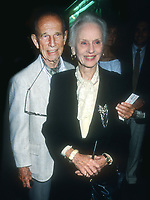 Hume Cronyn, Jessica Tandy, 1988, Photo By Michael Ferguson/PHOTOlink
