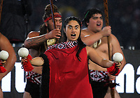 Prematch entertainment during the 2017 DHL Lions Series rugby union match between the NZ Maori and British & Irish Lions at Rotorua International Stadium in Rotorua, New Zealand on Saturday, 17 June 2017. Photo: Dave Lintott / lintottphoto.co.nz