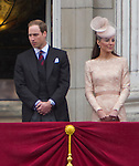 """KATE AND PRINCE WILLIAM.make an appearnce on the balcony of Buckingham Palace for the Finale of the 4 day Diamond Jubilee .Mandatory Credit Photo: ©J Reynolds/NEWSPIX INTERNATIONAL..**ALL FEES PAYABLE TO: """"NEWSPIX INTERNATIONAL""""**..IMMEDIATE CONFIRMATION OF USAGE REQUIRED:.Newspix International, 31 Chinnery Hill, Bishop's Stortford, ENGLAND CM23 3PS.Tel:+441279 324672  ; Fax: +441279656877.Mobile:  07775681153.e-mail: info@newspixinternational.co.uk"""