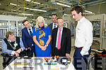 Tralee Mayor Terry O'Brien, Sean Kelly, Minister Mary Mitchell O'Connor,  Martin Shanahan IDA and General Manager of BorgWarner Tralee at the Borg Warner jobs announcement on Friday