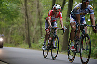 Tosh Van der Sande (BEL/Lotto-Belisol) in the breakaway group that will hold till the end<br /> <br /> GP Impanis 2014