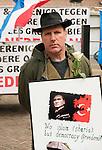 20170304,  Utrecht, PEGIDA demonstratie op Mariaplaats.<br /> foto Michael Kooren