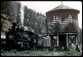 RGS #461 southbound while taking water at Brown water tank.<br /> RGS  Brown, CO  Taken by Kindig, Richard H. - 7/17/1951