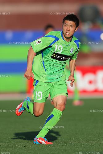 Shuhei Otsuki (Bellmare), .May 3, 2013 - Football / Soccer : .2013 J.LEAGUE Division 1, 9th Sec .match between Shonan Bellmare 0-3 Cerezo Osaka .at Shonan BMW Stadium Hiratsuka, Kanagawa, Japan. .(Photo by Daiju Kitamura/AFLO SPORT)